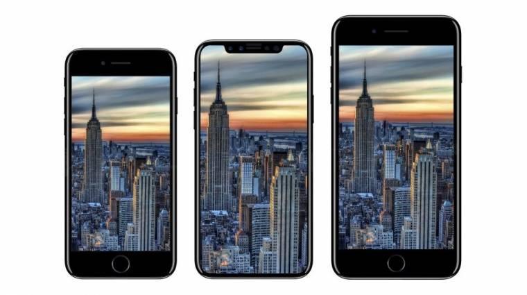 Kiszivárgott az iPhone 8 szokatlan külseje kép