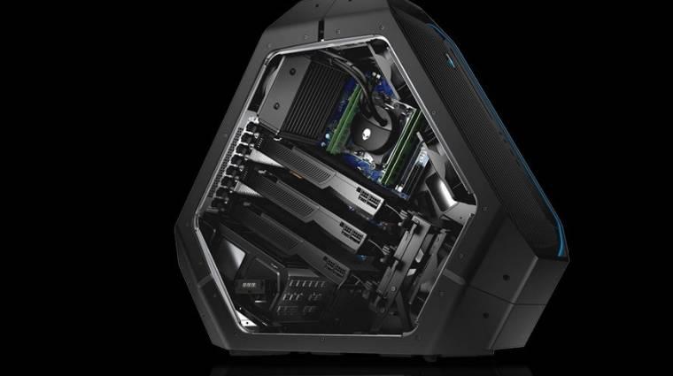 Core i9 is elfér az Area 51 asztali erőműben kép
