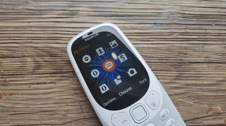 Érkezik a 3G-s Nokia 3310 kép