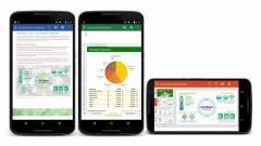 Sokat fejlődik az androidos Office kép