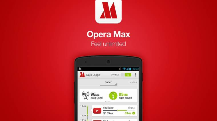 Vége a spórolásnak, az Opera Max lehúzza a rolót kép