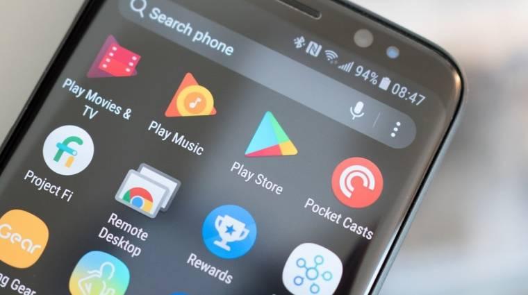 Eltakarítja előled a szemetet a Google Play Áruház kép