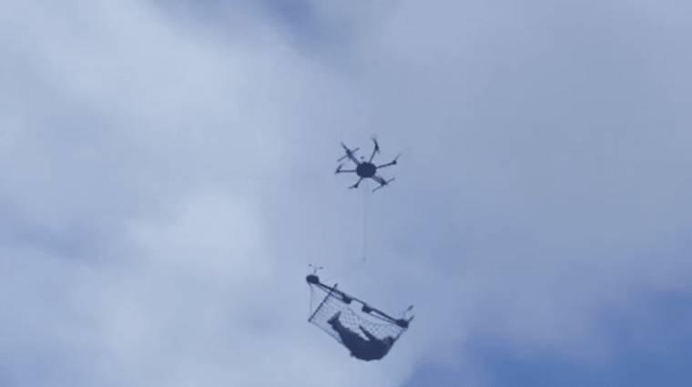 Embert vitt a drón? kép