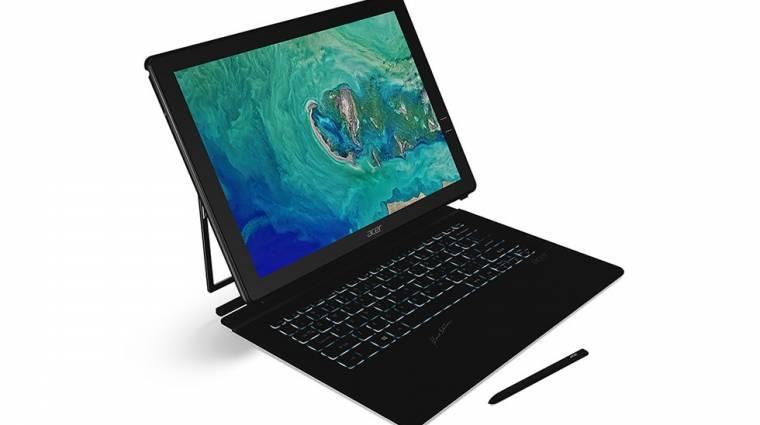 Különleges hibrid PC-t mutatott az Acer kép