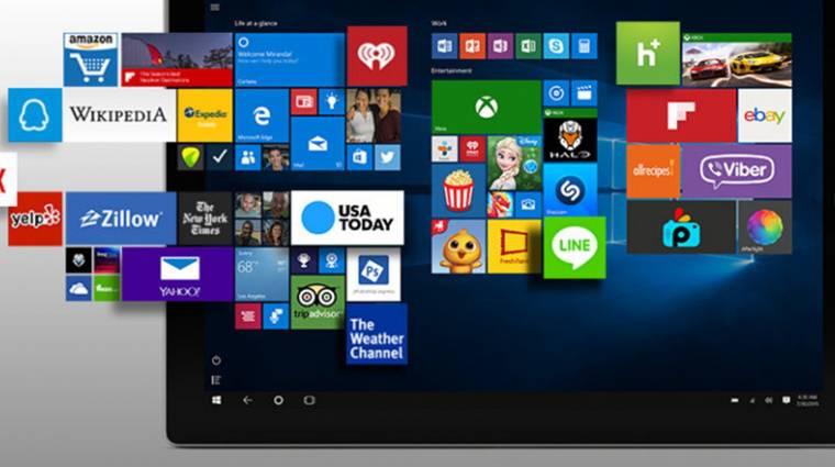 Így törölj modern appokat a Windows 10-ből kép