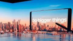 Jövőre jön a Samsung összecsukható okostelefonja kép