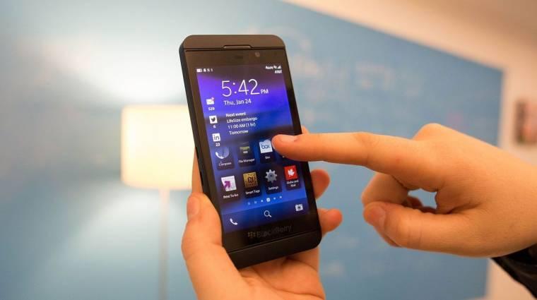 A BlackBerry megelőzte az iPhone X-et kép