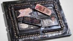 Így néz ki egy Threadripper CPU belülről kép