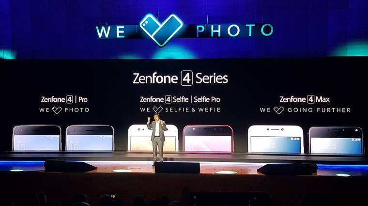 Az új ASUS Zenfone 4 családot fotókra és szelfikre találták ki kép