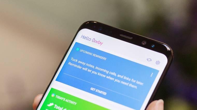 Rákapcsolt a Samsung Galaxy S8 kép
