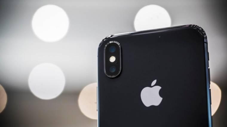 Csak 46 500 iPhone X-et sikerült eddig legyártani kép