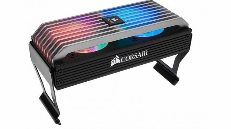 RGB-s világítással dobta fel a memóriahűtőjét a Corsair kép