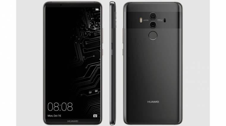 A Huawei Mate 10 már Oreóval jön kép
