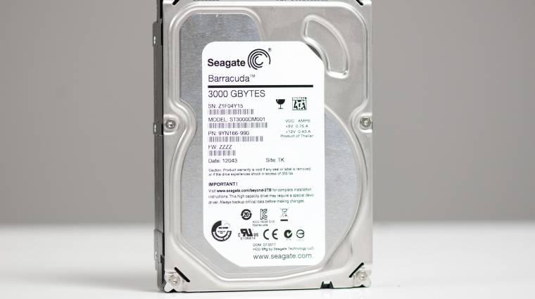 Jönnek a Seagate 20 TB-os merevlemezei kép
