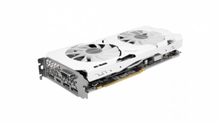 Fehérben is van már GeForce GTX 1070 Ti kép