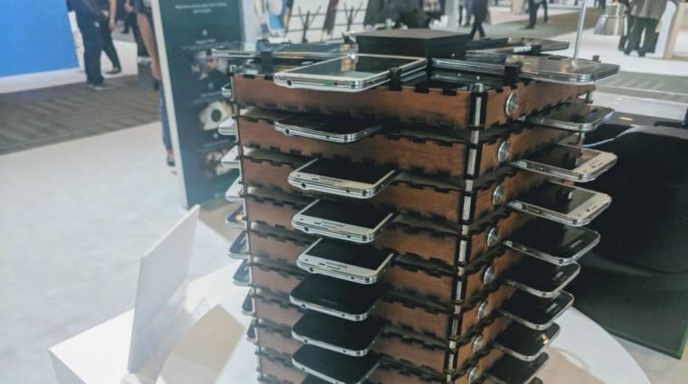 Egy pár Galaxy S5-tel is lehet már bányászni kép
