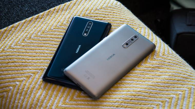 Oreóval bétázik a Nokia 8 kép