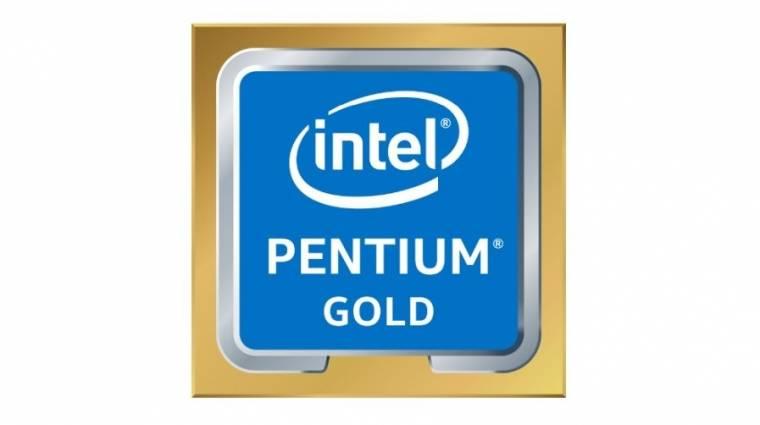 Jönnek a Pentium Gold processzorok kép