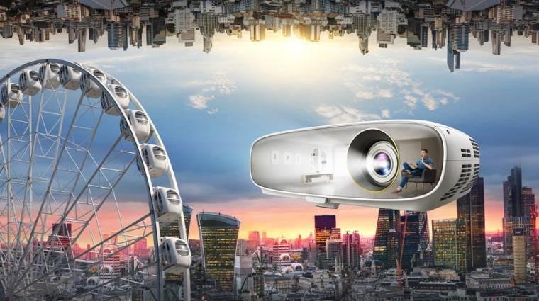 Meglepően olcsó a BenQ 4K-s, HDR-es projektora kép