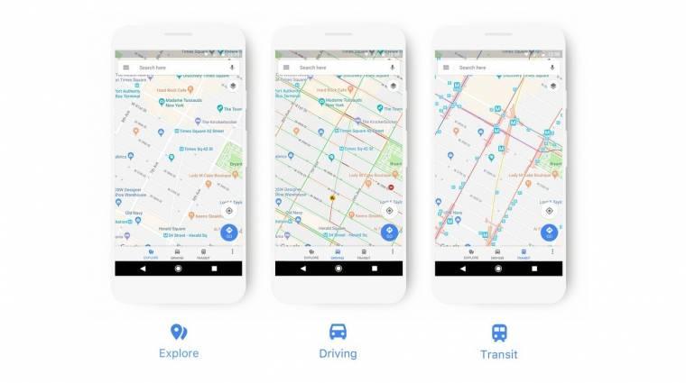 Megújul a Google Térkép kép