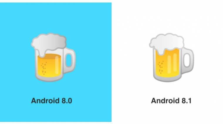 Az Android 8.1 megjavította a sört és a hamburgert kép