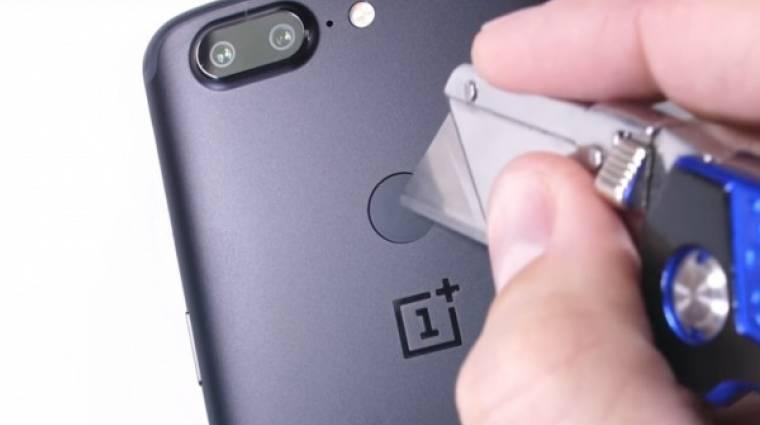 Jól bírja a strapát a OnePlus 5T kép