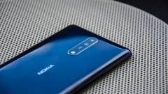 Oreóra váltott a Nokia 8 kép