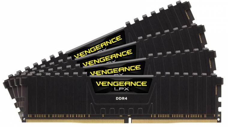 Villámgyors lett a Corsair 32 GB-os DDR4-es kitje kép