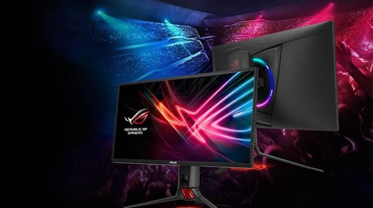240 Hz-es az új ROG Strix monitor kép
