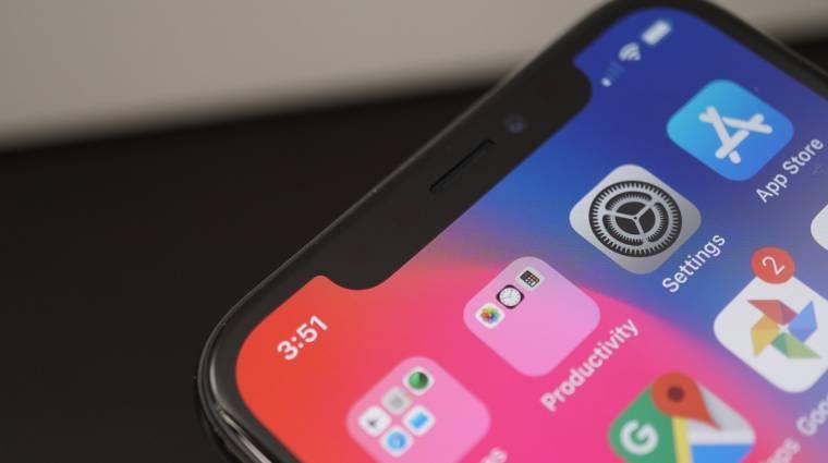 Az iPhone X kijelzőjét akarja lemásolni a Huawei P11 kép