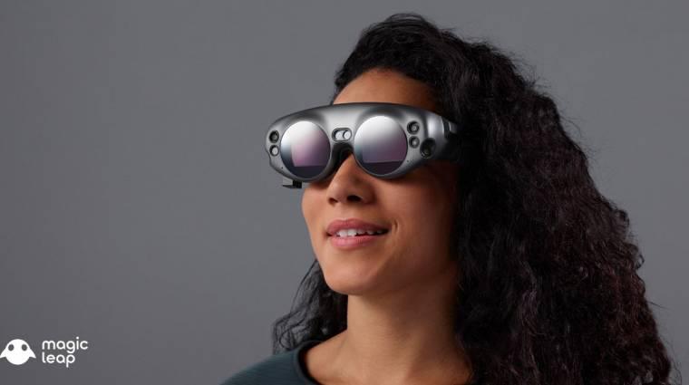 Vadítóan néz ki a Magic Leap AR-szemüvege kép