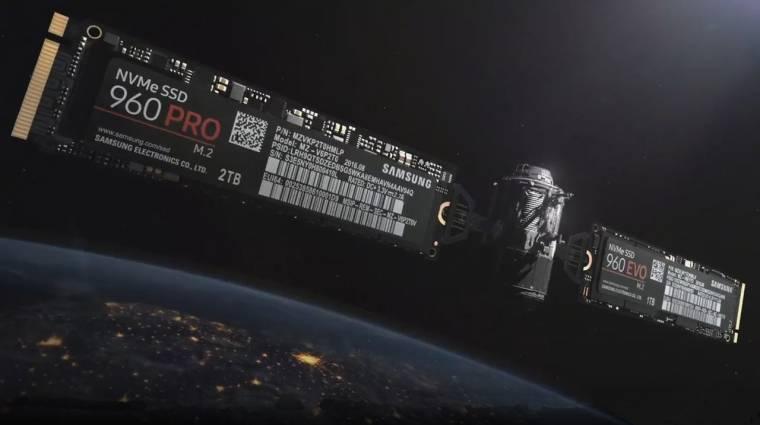 Elhibázták a Samsung 960 Pro SSD frissítését kép