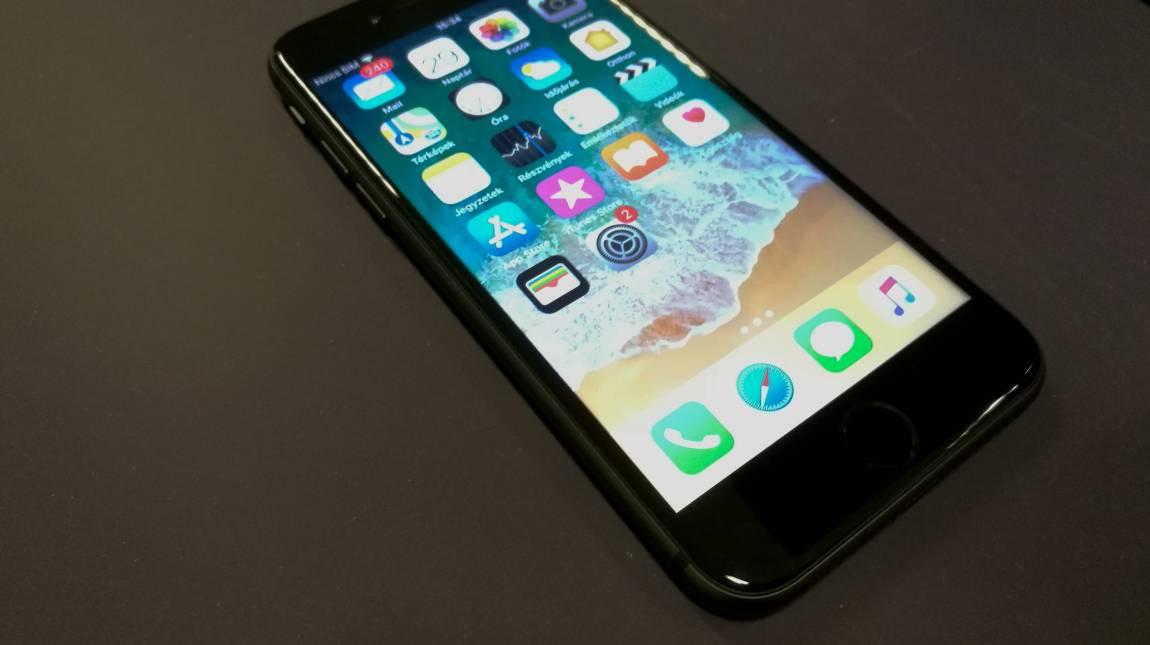 Apple iPhone 8 teszt – valahol már láttalak kép