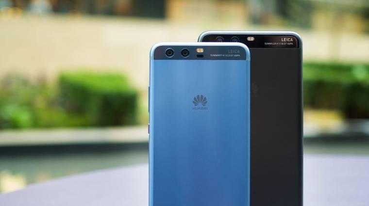 Triplalencsés, 40 megapixeles kamerával újíthat a Huawei P11 kép