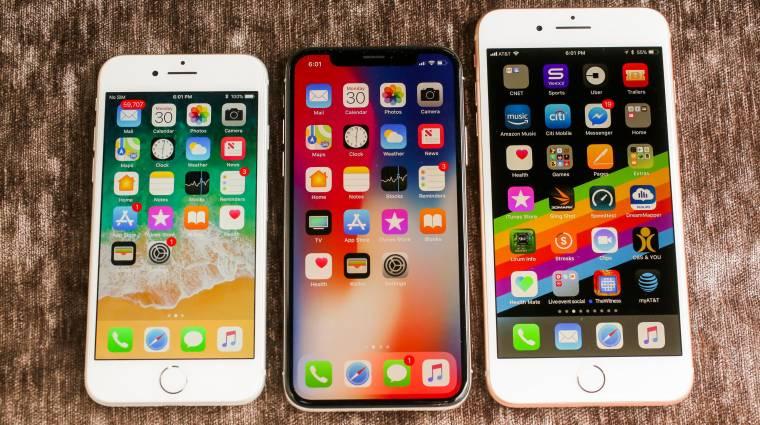 Idén az iPhone X és az iPhone 8 érdekelte a világot kép