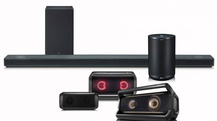 Az LG is mesterséges intelligenciával dobja fel a hangszóróját kép