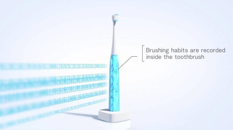 Mesterséges intelligenciával dolgozik az új elektromos fogkefe kép