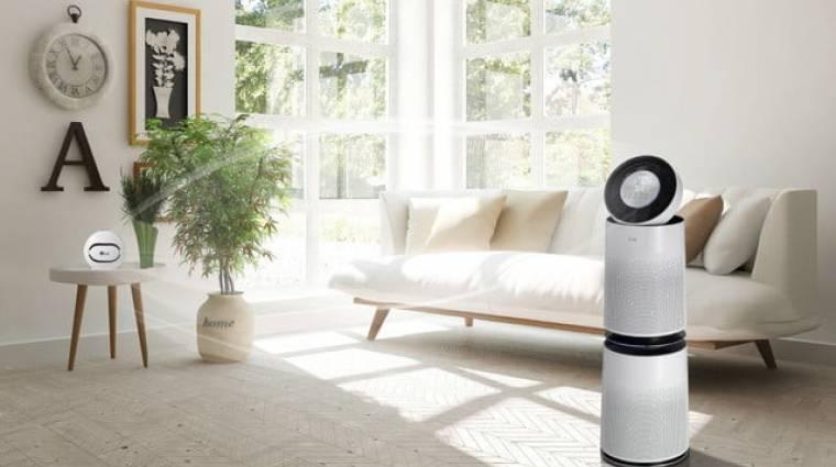 Így javítja fel az LG az okosotthonok levegőjét kép