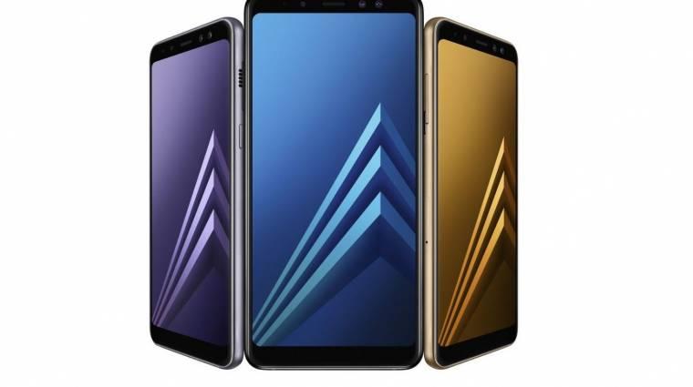 Menő lett az új Samsung Galaxy A8 és A8+ kép