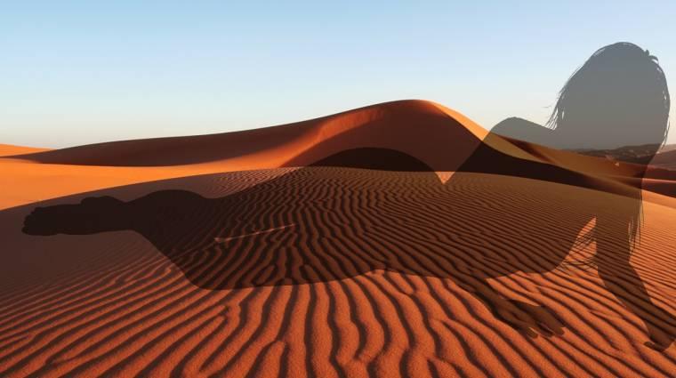 A mesterséges intelligencia pornónak nézi a sivatagot kép