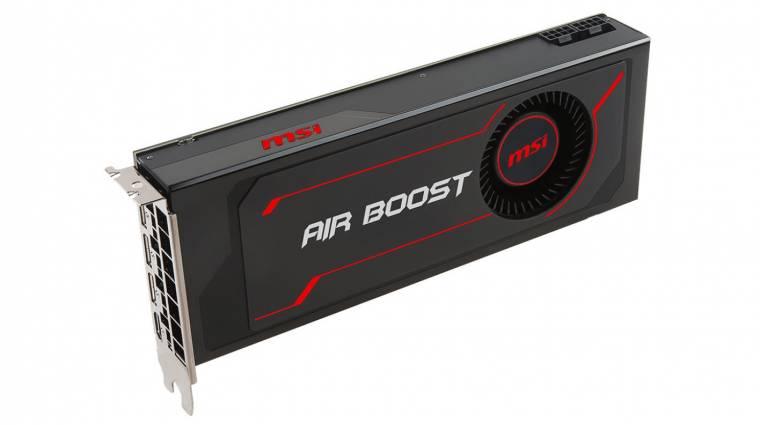 Itt vannak az MSI Radeon RX Vega 56 Air Boost videokártyák kép