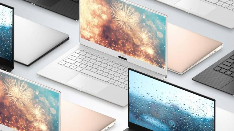 Megújult, és még menőbb laptop lett az új Dell XPS 13 kép