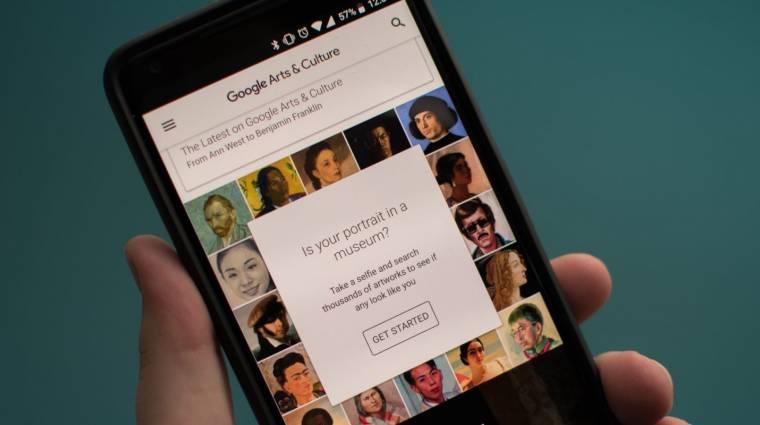 Szelfiőrületet okozott a Google kép