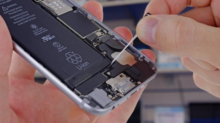 Ezért robban fel egyes iPhone-ok akkumulátora kép