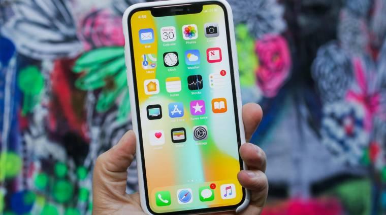 Leállhat az iPhone X gyártása az alacsony kereslet miatt? kép