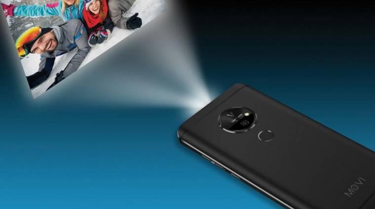 Ebben az okostelefonban projektor is van kép