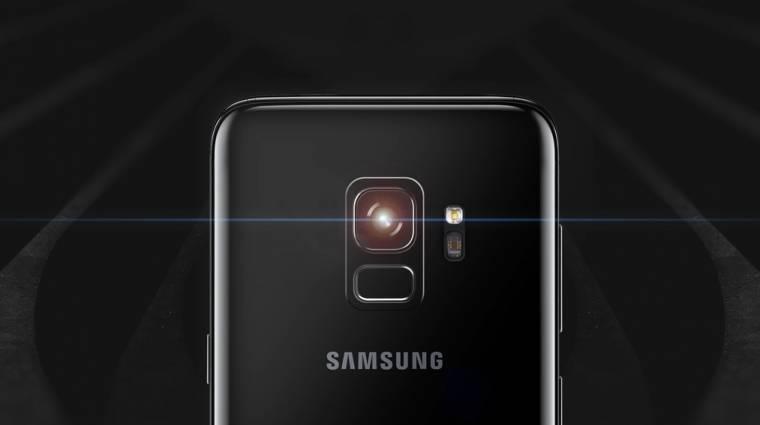 A Galaxy S9 kameráját emlegeti a Samsung kép