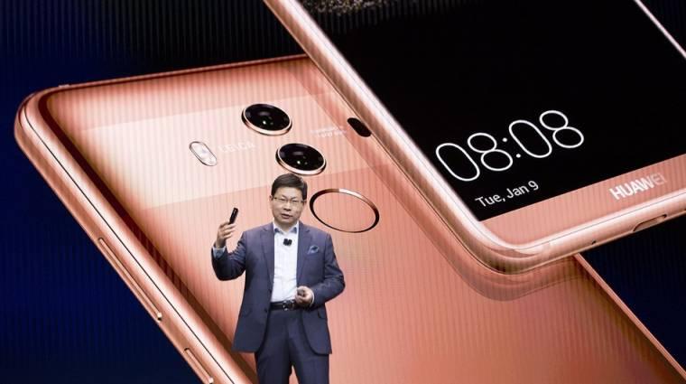 Március 27-én jönnek az új Huawei zászlóshajók kép
