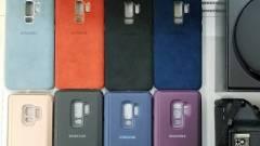 Kiszivárogtak a Galaxy S9 gyári tokjai kép