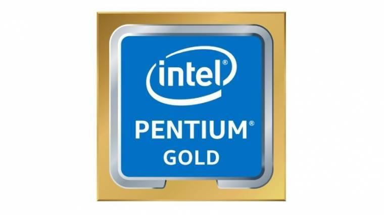 Piacon a Coffee Lake-alapú Intel Pentium Gold processzorok kép